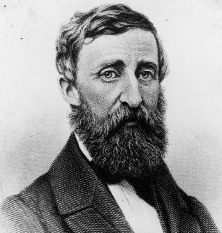 Henry David Thoreau, circa 1850