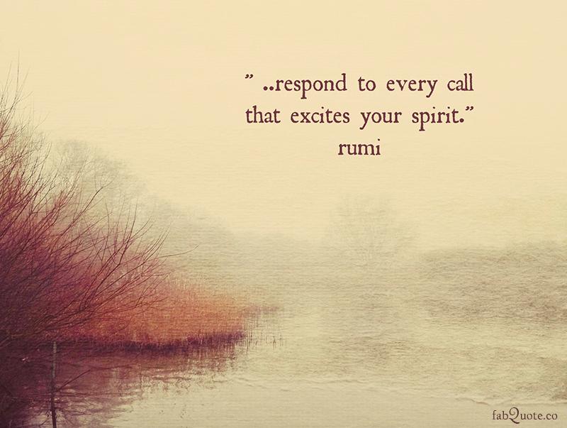 Rumi - Your spirit